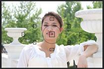 2.使用取景器中央部分进行点测光